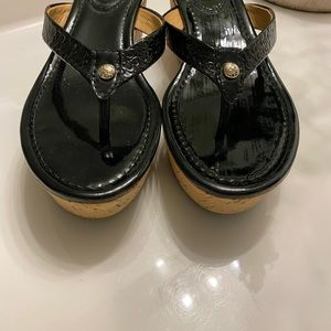 Coach Shoes - Coach vintage wedge